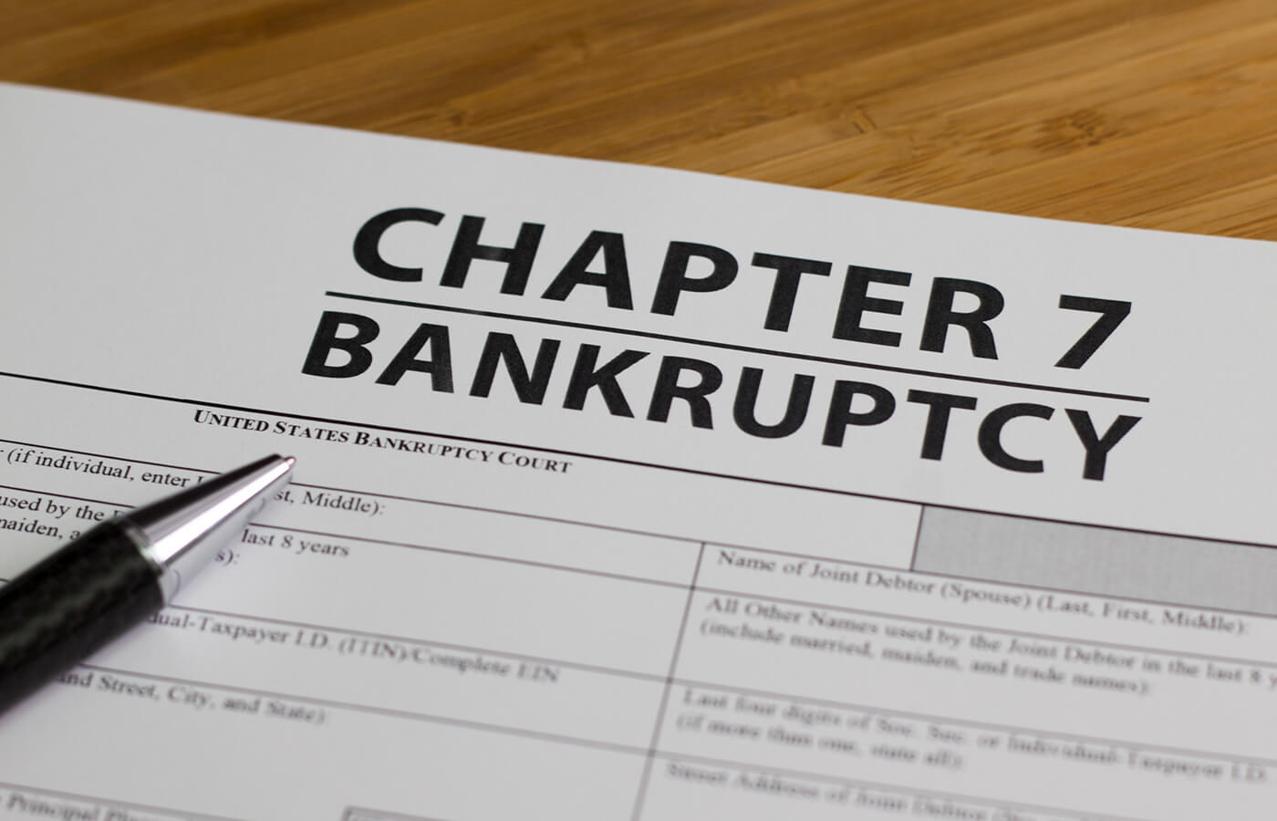 Photo of What is Chapter 7 Bankruptcy?